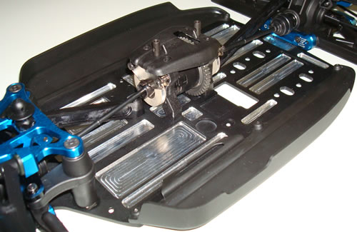 Team Associated RC8B Chassis milled out by Big-Racing